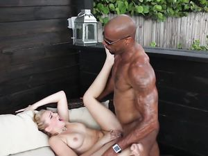 Teen Satisfied By The Hardcore Fucking From A Black Guy