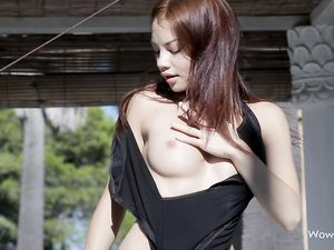 Swimsuit Stunner Strips To Arouse You Outdoors