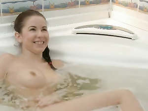 Bathtub Banging And Sucking With A Busty Teen