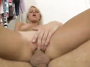 Legs Go Wide Open As The Teen Gets Fucked