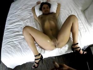 Hot Panties And Heels On The Hardcore Hooker