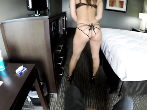Hot Panties And Heels On The Hardcore Hooker