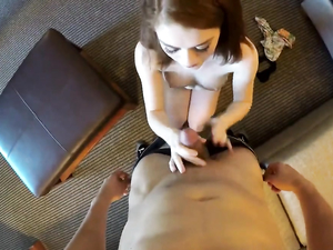 Lithe Body Redhead Filled With A Big Cock