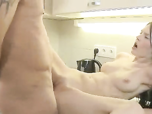 Pussy Eating And Anal Sex Make This Teen Slut Happy