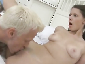 Perky Tits Babe In Pigtails Is Into Hardcore Fucking