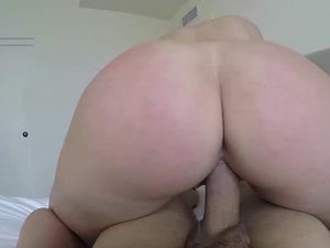 Nice Fat Ass On A Reverse Cowgirl Slut