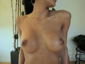 Fit And Horny Slut Chloe Amour Oiled And Fucked