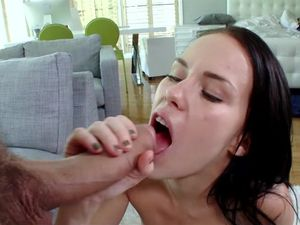 Facial For Well Fucked Tiny Slut Megan Rain
