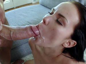 Facial For Well Fucked Tiny Slut Megan Rain