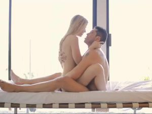 Beauty Takes A Facial From Her Horny Man